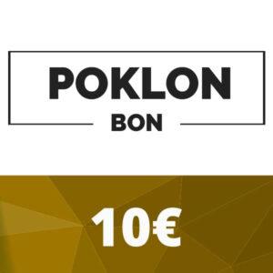Poklon bon 10 €