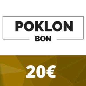Poklon bon 20 €