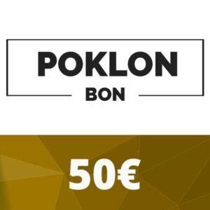 Poklon bon 50 €