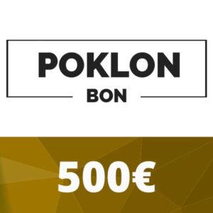 Poklon bon 500 €